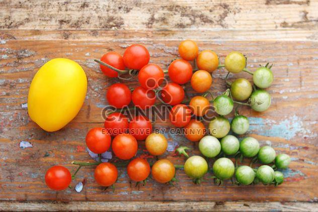 Tomates de cereja frescas - Free image #359153