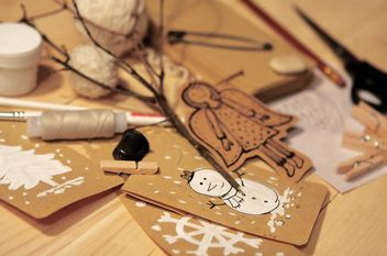 Handmade christmas toy - бесплатный image #359163