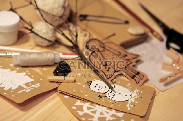 Jouet de Noël fait main - image gratuit #359163