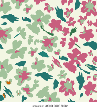 Abstract floral background - Free vector #359423