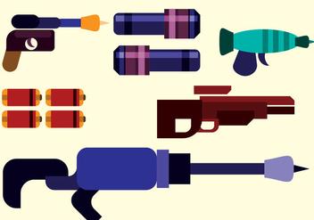 Laser Gun Vector - Free vector #359483