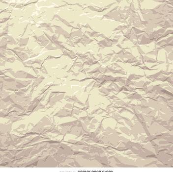 Grunge crumpled paper - vector #360043 gratis