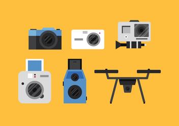 Vector Camera - vector gratuit #360123