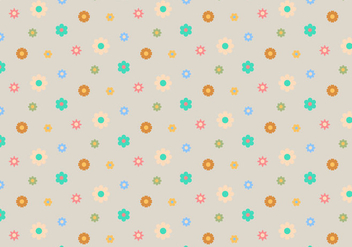 Floral Pastel Pattern - Kostenloses vector #360683