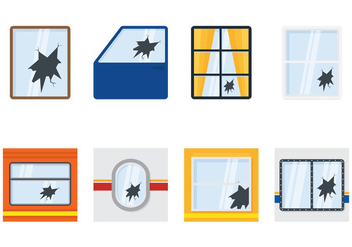 Broken Window Collections - бесплатный vector #361003