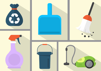 Cleaning Vector Objects - vector gratuit #361233