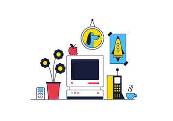 Free Desktop Vector - vector #361673 gratis