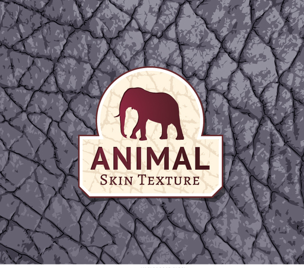 Gray elephant skin texture - Free vector #361723