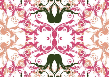 Floral Seamless Pattern Background - Kostenloses vector #361933