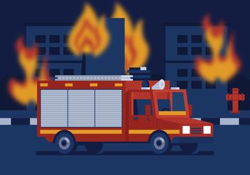 Vector Fire Truck - Free vector #362133