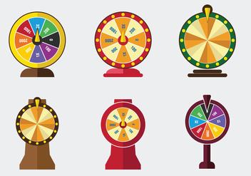 Lucky Spin Game Vector - vector gratuit #362503