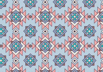Ethnic Geometric Pattern - vector gratuit #362863