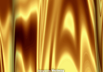 High Detailed Vector Background Of Liquid Gold Texture - Free vector #363143