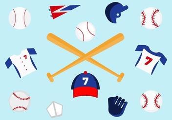 Free Baseball Vectors - vector gratuit #364173
