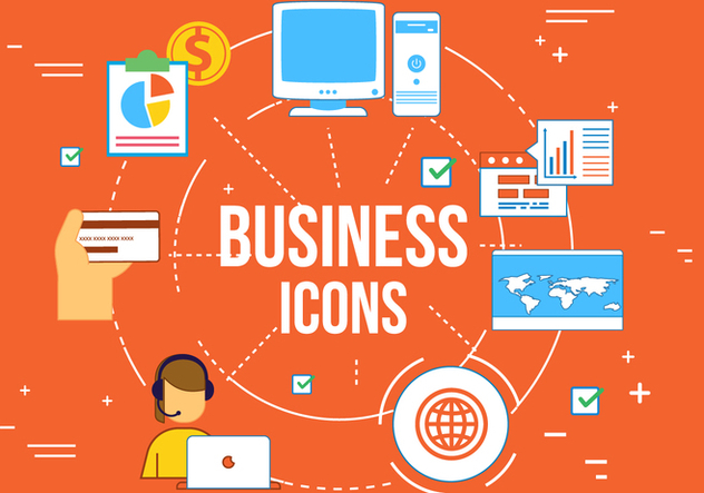 Free Vector Business Web Elements - Free vector #364193