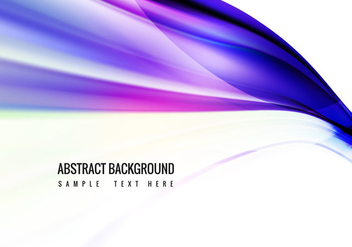 Vector Colorful Wave Background - Free vector #364723