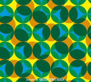 Vintage geometric pattern - vector gratuit #365063
