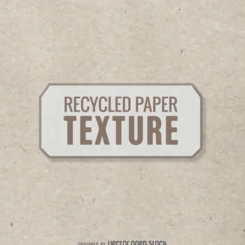 Recycled paper texture - vector gratuit #365453