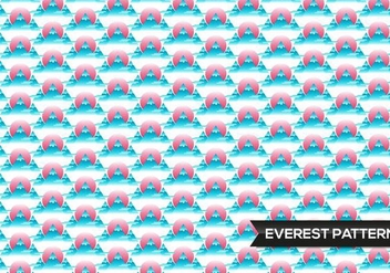 Everest Pattern Mountains - Free vector #365843