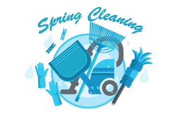 FREE SPRING CLEANING VECTOR - бесплатный vector #365873