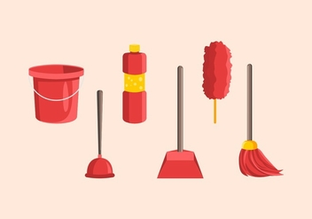 FREE SPRING CLEANING VECTOR - бесплатный vector #365883