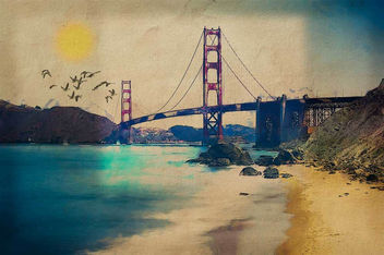 Golden Gate Morning - image #366263 gratis