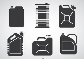 Can Collection Vector - vector #366383 gratis