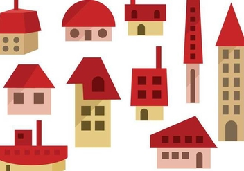Free Houses Vectors - Free vector #366493