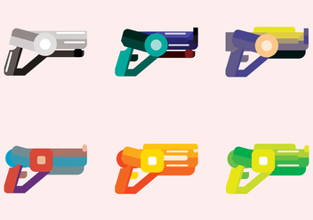 Laser Tag Toys Vector - Free vector #366813
