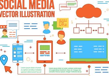 Free Social Media Vector - Kostenloses vector #367223