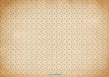 Old Polka Dot Background - vector gratuit #367793
