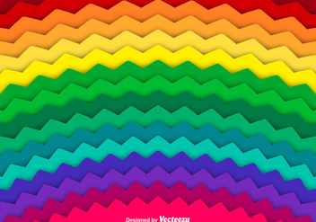 Abstract Rainbow Vector Background - Free vector #367823