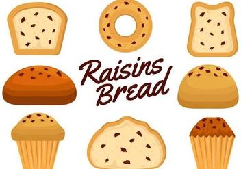 Free Raisins Vector - vector #368433 gratis