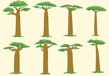 Baobab Tree - vector #368633 gratis