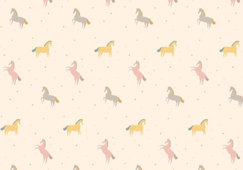 Horse Pattern - Kostenloses vector #368783