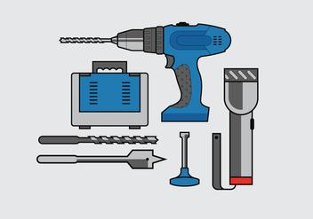 Vector Drill - vector #369663 gratis