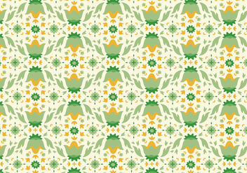 Flower Decorative Pattern - бесплатный vector #369743