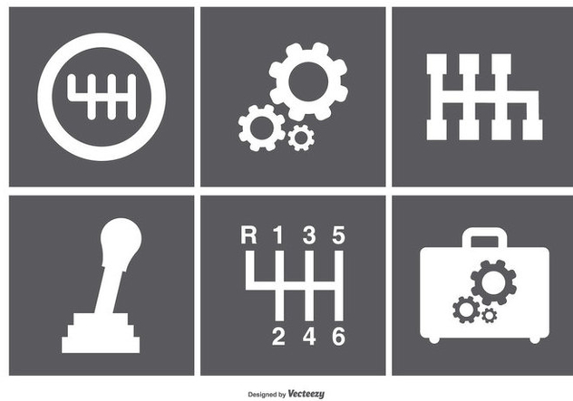 Assorted Gear Box Icons - vector #369923 gratis