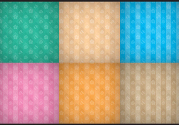 Hawaiian Patterns - Free vector #370183