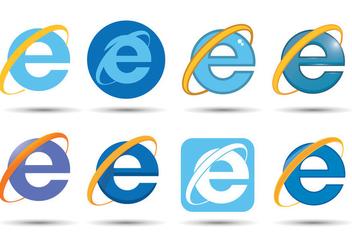 Internet Explorer Vector - Free vector #370313