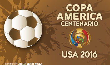 Copa America 2016 banner - Free vector #370693