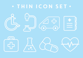 Free Medical Icons - vector #370993 gratis