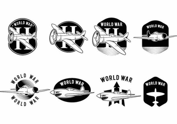 World War 2 Air Plane - Free vector #371723