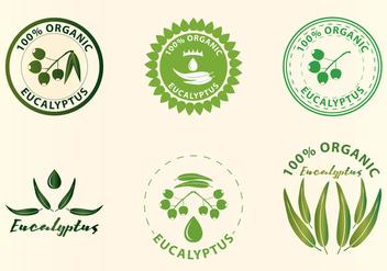 Eucalyptus Logos - бесплатный vector #371863