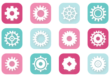 Clock Gears - vector #372853 gratis