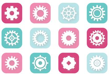 Clock Gears - Free vector #372853
