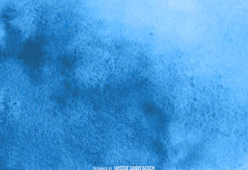 Blue abstract watercolor background - vector gratuit #373053