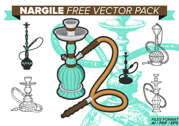Nargile Free Vector Pack - Kostenloses vector #374343