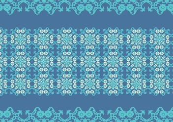 Portuguese Tile Pattern Vector - Free vector #374863