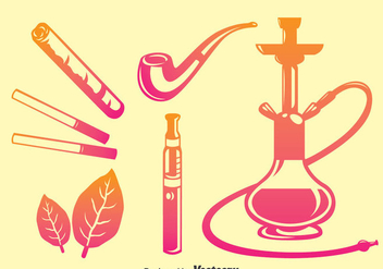 Smoke Icons Vector - vector #375253 gratis